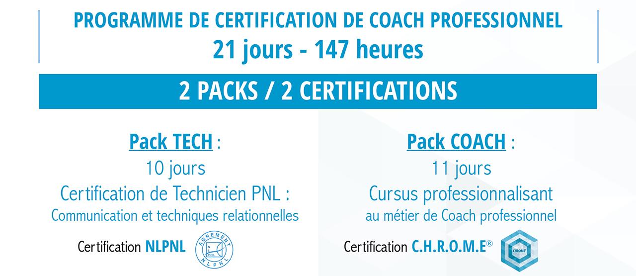 Formation certifiante de coach individuel professionnel